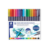 Staedtler Double-Ended Watercolour Brush Pens
