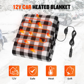 Electric Car Heated Blanket Warm(New In!)