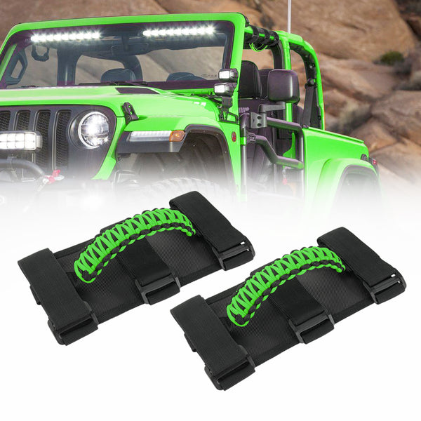 Grab Handles Grip Handle Compatible with Jeep Wrangler & Gladiator
