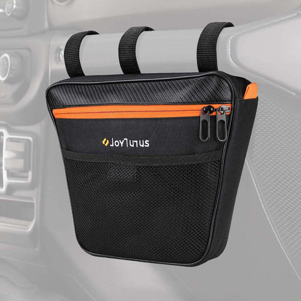 Passenger Grab Handle Storage Bag for Jeep Wrangler CJ YJ TJ JK JL 1965 to 2020 & JT Gladiator UTV