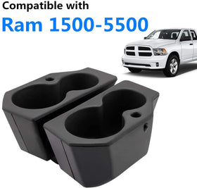 Car Door Cup Holder Compatible with 2009-2019 Ram 1500-5500