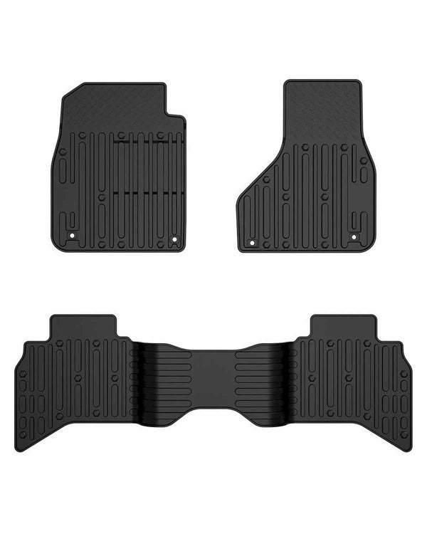 All Weather Floor Mats for Dodge Ram 1500 2500 3500 Crew Cab 2013-2018