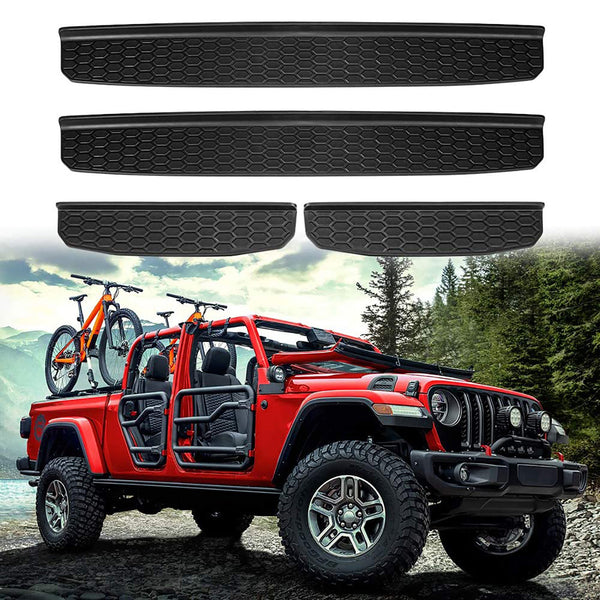 Door Sill Guards Entry Guard Kit for 2020 Jeep Gladiator JT 4 Door