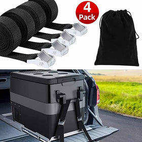 4pcs Tie Down Straps for Fridge Freezer Slider 7.25Ft Adjustable Heavy Duty Lashing Straps