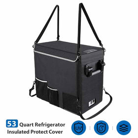 Insulated Protective Cover Transit Bag for 50L (53 Quart) Portable Refrigerator Fridge