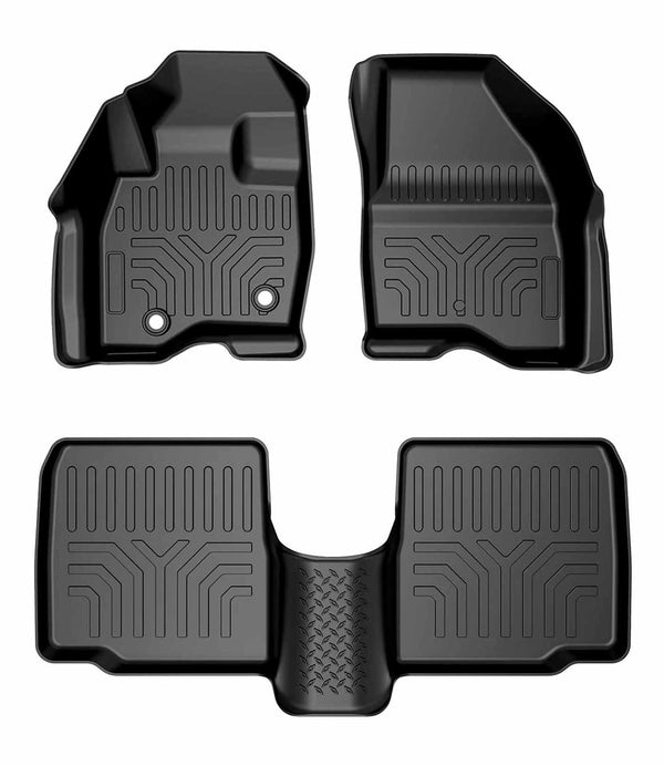 All Weather Floor Mats for Ford Explorer 2015-2019