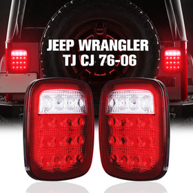 1976-2006 Jeep Wrangler TJ CJ Brake Light