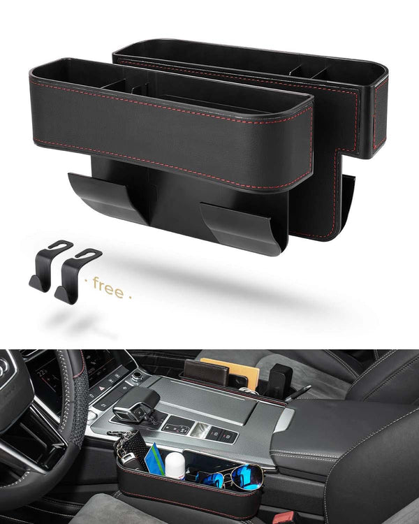 (NEW) Upgrade Adaptable Car Seat Organizer and Storage