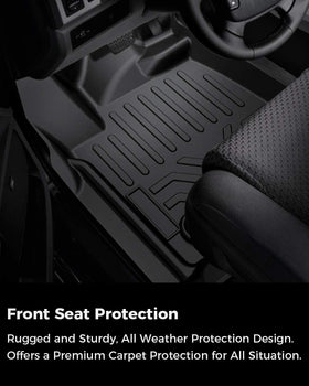 All Weather Floor Mats for Toyota Tundra 2014-2020