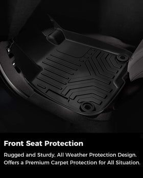All Weather Floor Mats for Honda CR-V 2017-2020