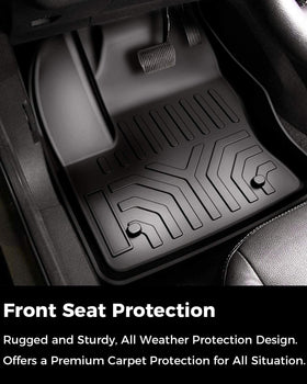 All Weather Floor Mats for Ford Escape 2013-2019