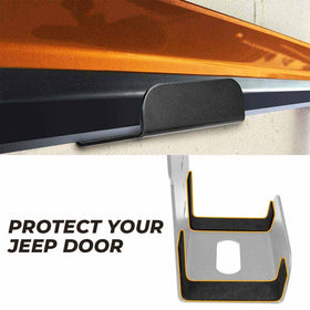 Door Storage Hanger Bracket for All Jeep Wrangler JK JKU JL JLU CJ YJ TJ LJ JT Gladiator