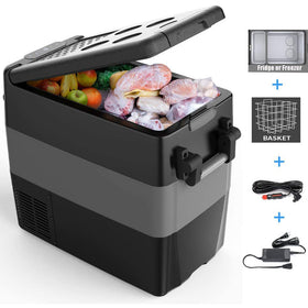 Portable Refrigerator Fridge Electric Compressor Car Cooler - 50L (53 Quart)