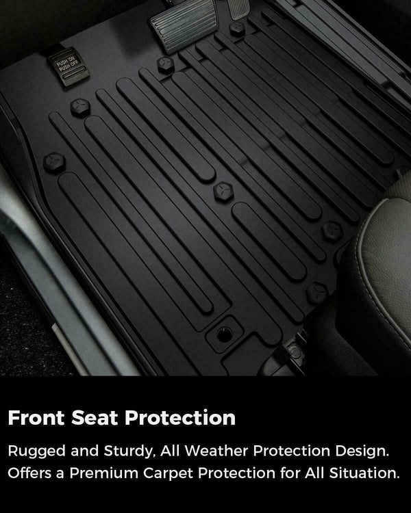 All Weather Floor Mats for Dodge Ram 1500 Crew Cab 2012-2019