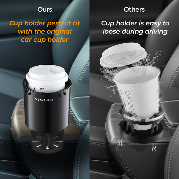 Car Cup Holder Adapter for 32-40 Ounce Large Bottles A