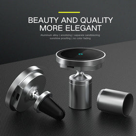 15W Magnetic Wireless Car Charger for iPhone 12