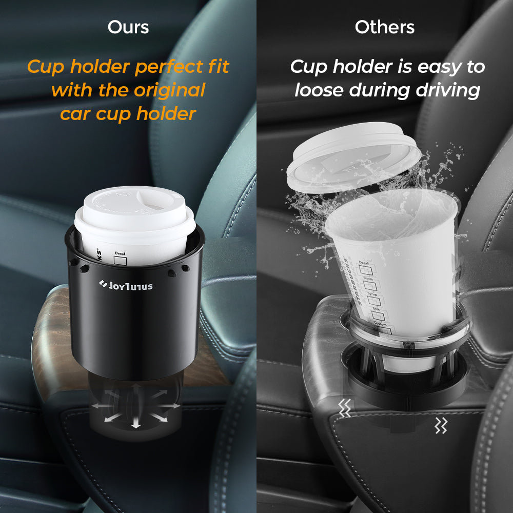 Car Cup Holder Adapter for 32-40 Ounce Large Bottles