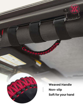 Universal Grab Handles Grip Handle Compatible with Jeep Wrangler & Gladiator