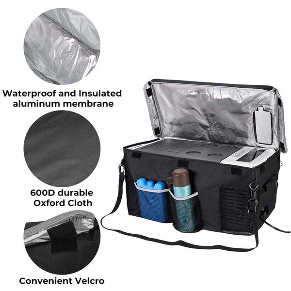 Insulated Protective Cover Transit Bag for 18L (20 Quart) Portable Refrigerator Fridge