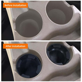 Cup Holder Insert Replacement Compatible with Chevy Trailblazer GMC Envoy