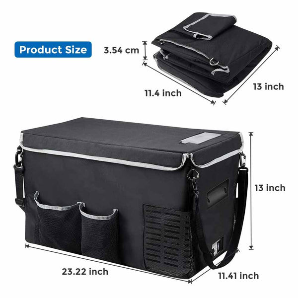 Insulated Protective Cover for 26 Quart Portable Refridgerator Fridge Freezer
