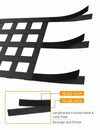 Cargo Net Top Roof Hammock Mesh for Jeep Wrangler JK JKU JL YJ TJ LJ 1997 to 2020