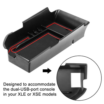 JoyTutus Center Console Organizer Tray For Toyota Camry XLE/XSE