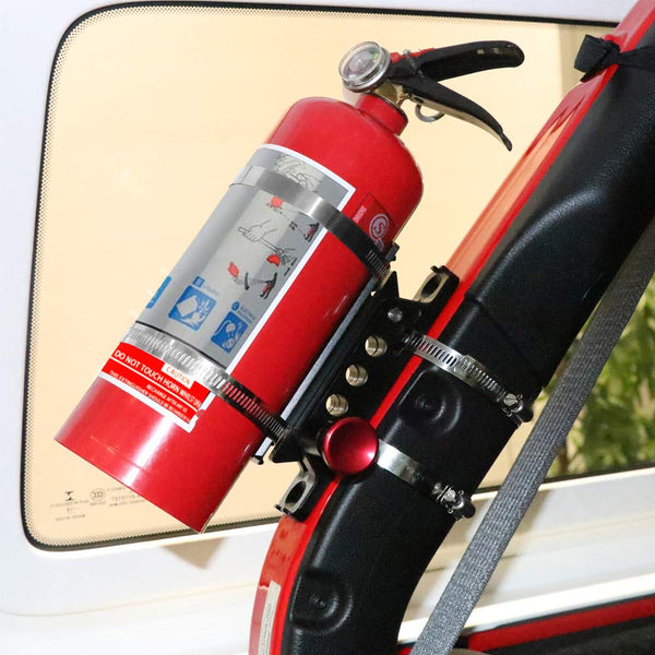 JoyTutus Fire Extinguisher Mount Bottle Holder For Jeep/UTVs