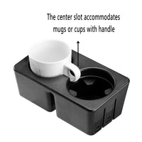 JoyTutus Center Console Cup Holder Insert