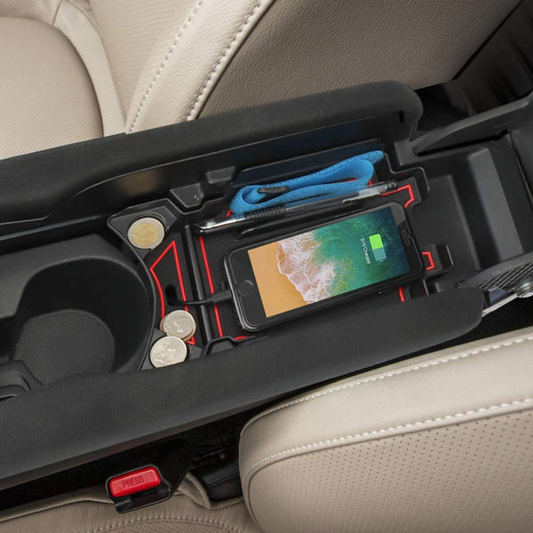 JoyTutus Center Console Organizer Tray For Honda Civic