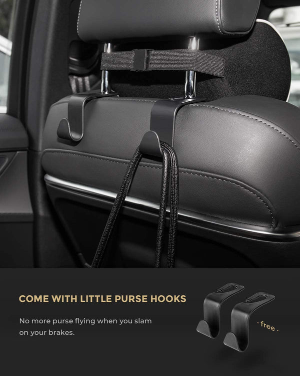 Upgrade Adaptable Car Seat Organizer and Storage.