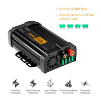 JoyTutus 1000W Power Inverter with Dual AC Outputs Dual USB Charger