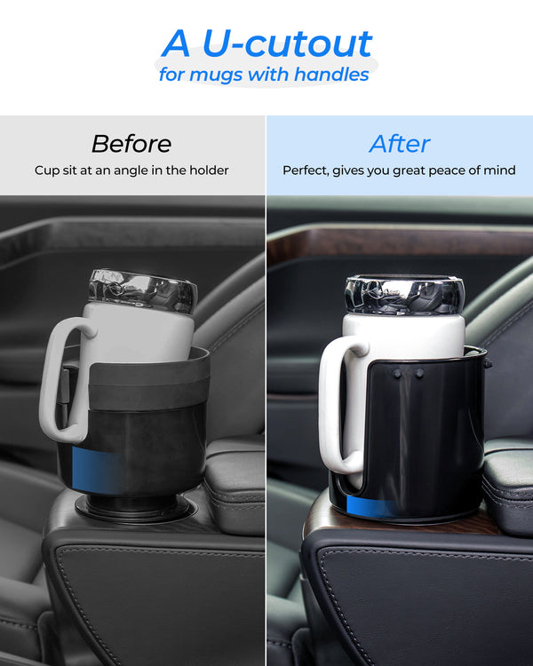 18-40 Oz Car Cup Holder (Upgraded)