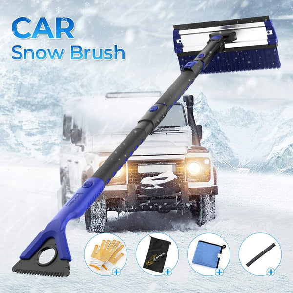 5 in 1 Detachable Foam Car Snow Brush with Ice Scraper.
