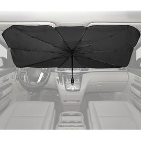 Foldable Car Windshield Sun Shade Umbrella - 49''x 25''