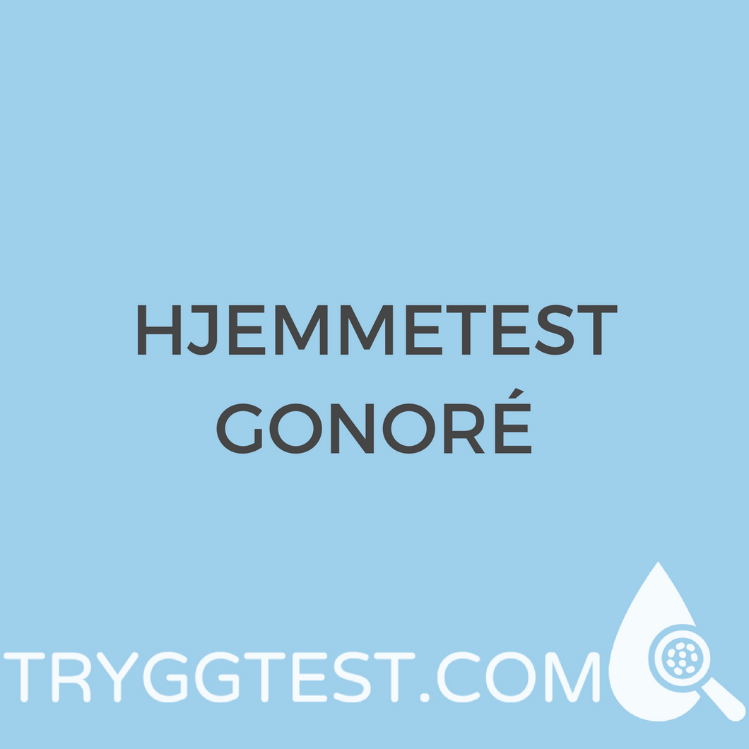 hjemmetest gonore