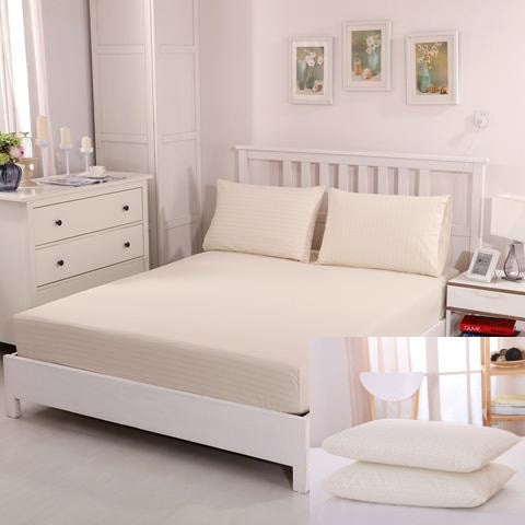 Bundle - Earthing sheet (198*203cm ) with 2 pillow case (75*50cm)