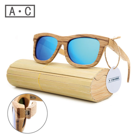 A.C-GLASSES Wooden Sunglasses