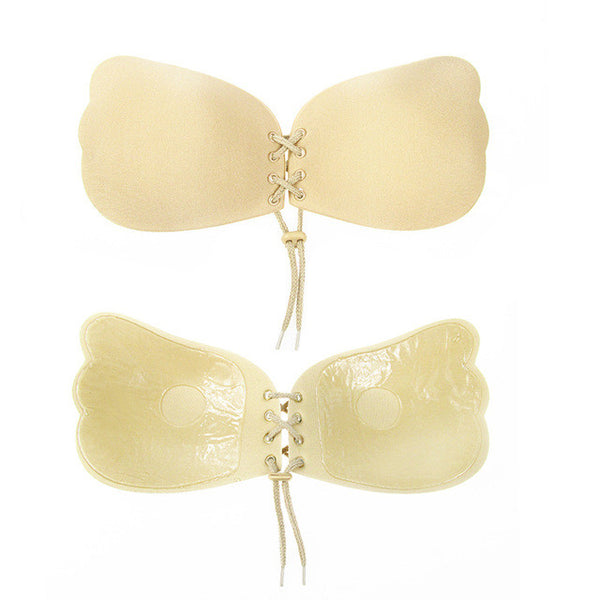 FREE Strapless Self Adhesive Silicone Invisible Push-up Bra - PROMOTIONAL SPECIAL