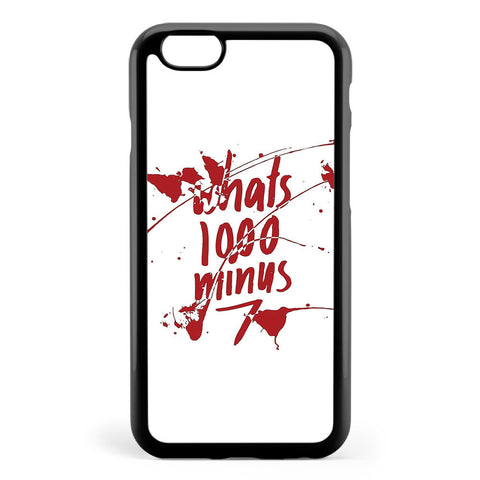 1000 7 Apple iPhone 6 / iPhone 6s Case Cover ISVG401