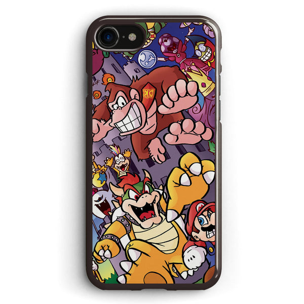 21 Years of Bosses Mario Apple iPhone 7 Case Cover ISVC586