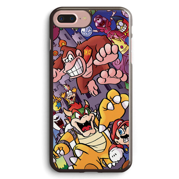 21 Years of Bosses Mario Apple iPhone 7 Plus Case Cover ISVC586