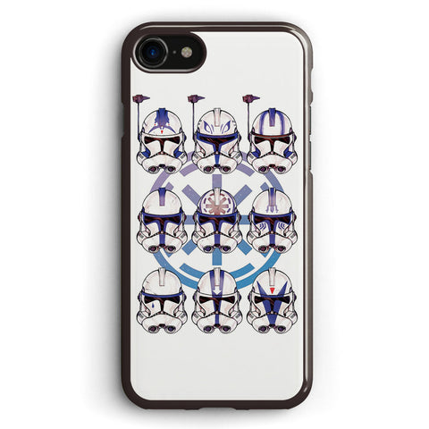 501st 9 Pack Stormtrooper Apple iPhone 7 Case Cover ISVH310
