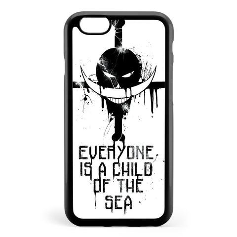 A Child of the Sea Black Apple iPhone 6 / iPhone 6s Case Cover ISVB917