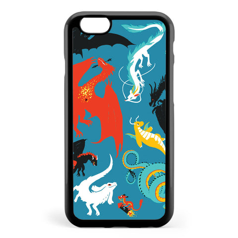 A Flight with Dragons Apple iPhone 6 / iPhone 6s Case Cover ISVE902