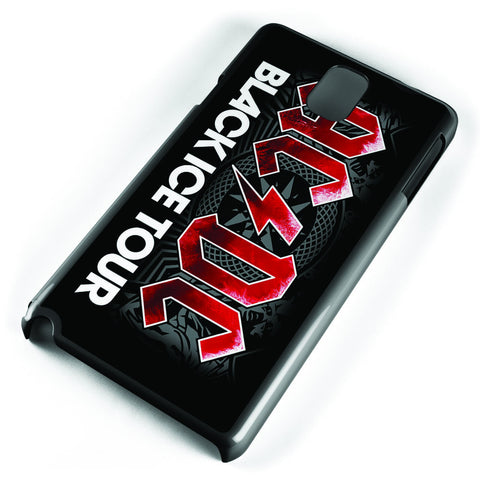 Acdc Black Ice Tour Samsung Galaxy Note 3 Case Cover ISVA430