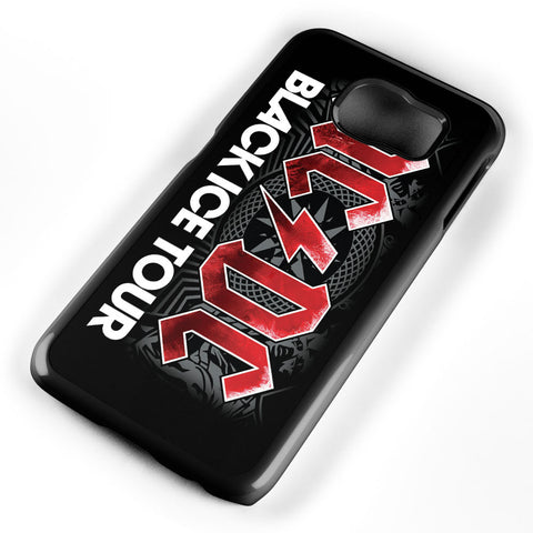 Acdc Black Ice Tour Samsung Galaxy S6 Case Cover ISVA430
