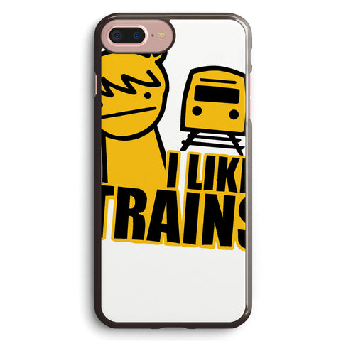 Asdf I Like Trains Video Movie Funny Apple iPhone 7 Plus Case Cover ISVB386