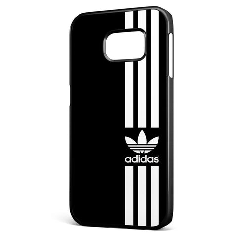 Adidas Black Strip Samsung Galaxy S6 Edge Case Cover ISVA472