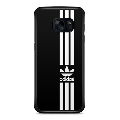 Adidas Black Strip Samsung Galaxy S7 Edge Case Cover ISVA472